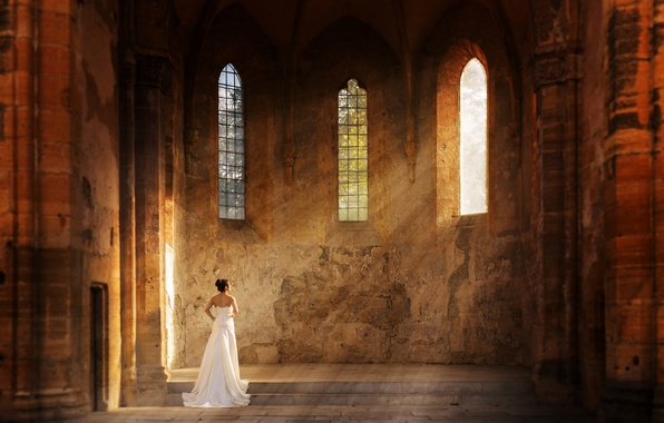Picture rays, Church, the bride, solar