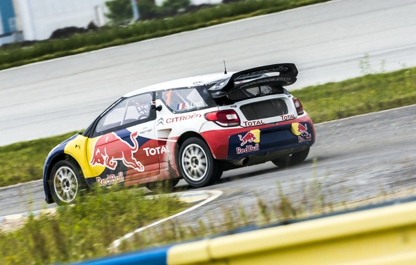 Picture Auto, Speed, Race, Citroen, Citroen, Car, Red Bull, DS3, Rally, Rally, Sebastien Loeb, rallycross
