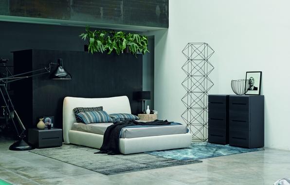 Picture design, interior, design, bedroom, modern, bed, modern, bedroom