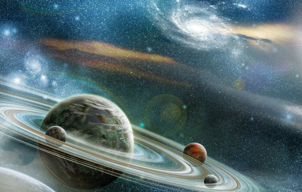 Picture stars, cosmos, planets, Sci Fi