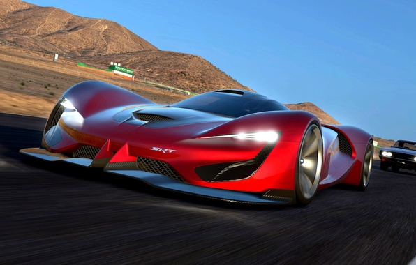 Picture Dodge, Vision, Dodge, Tomahawk, SRT, Gran Turismo, 2015