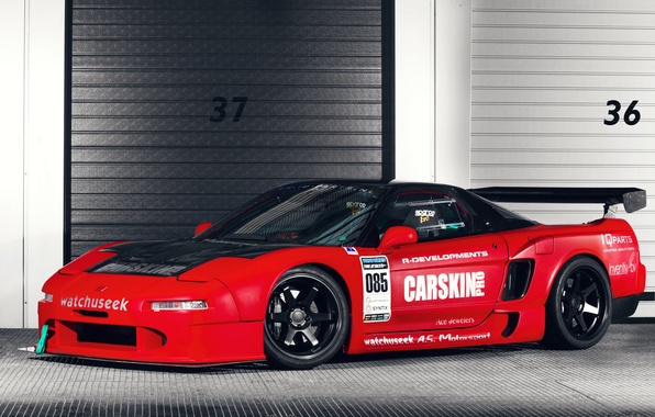 Picture Honda, Car, Race, NSX, Time Attack