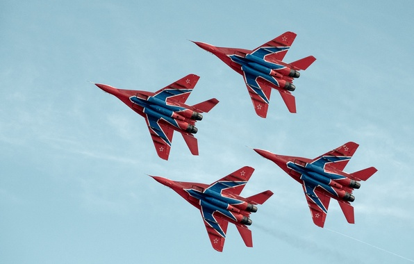 Picture fighters, The MiG-29, Swifts