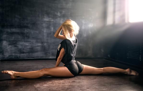 Picture ass, girl, twine, Studio, Anton Pechkurov