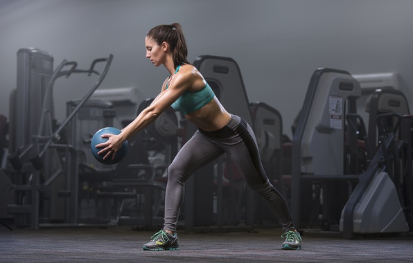 Picture ball, workout, fitness