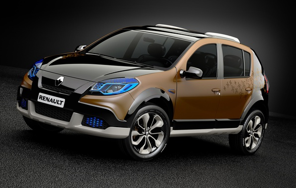 Picture Concept, Renault, 2010, Reno, Steve, Sandero, Sandero, Stepway