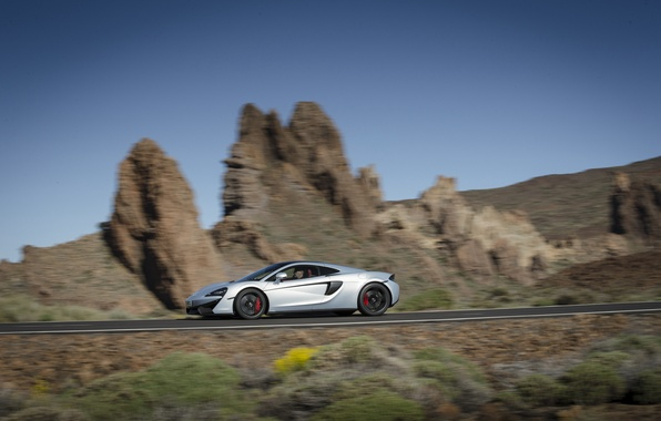 Picture road, car, auto, McLaren, speed, road, 570GT
