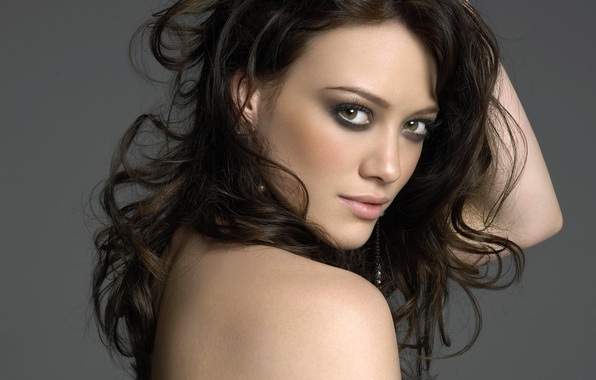 Picture look, beauty, HIlary Duff