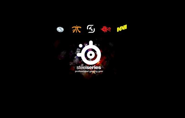 Picture logo, logo, steelseries, SteelSeries, SK GAMING, NAVI, EVIL GENIUSES, FNATIC, TYLOO