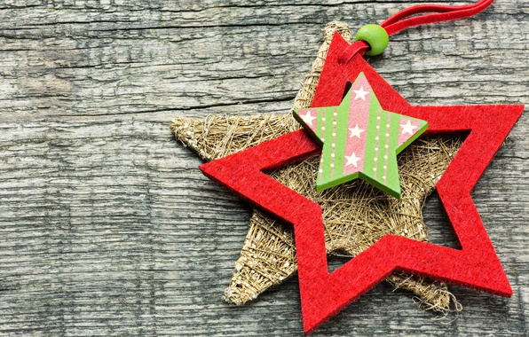 Picture decoration, tree, star, Christmas, New year, Christmas, decoration, xmas, Merry