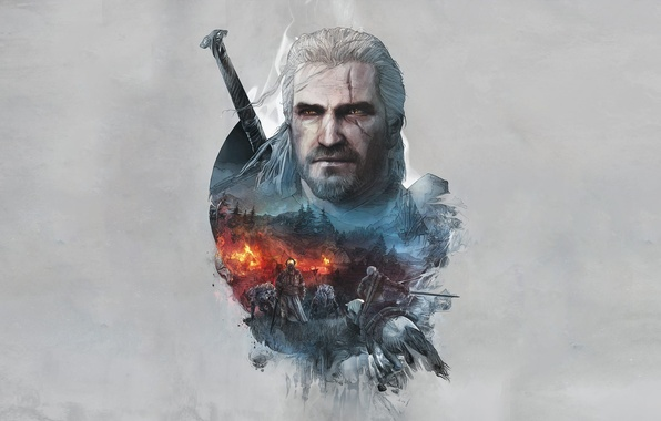 Picture The Witcher, The Witcher, Geralt, CD Projekt RED, The Witcher 3: Wild Hunt, Geralt, The ...