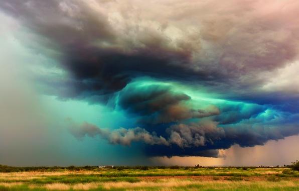 Picture the sky, clouds, storm, AZ, USA