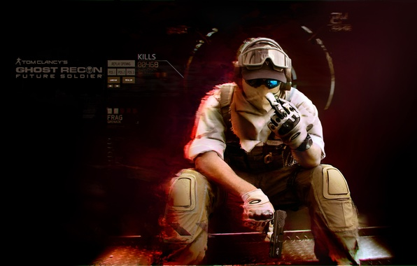Picture future, soldiers, future soldier, Tom Clancy's, Ghost recon