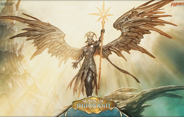 Photo Wallpaper Girl Heaven Angel Magic The Gathering