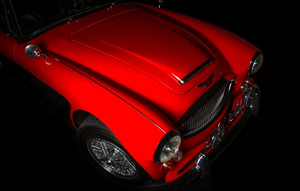Picture Red, 1964, Austin Healey