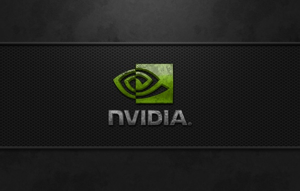 Picture dark, nvidia, logo, Cool corrosion, best image quality