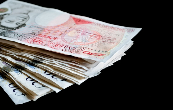 Picture money, paper, ink, British pounds
