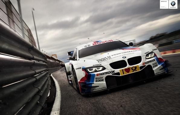 Picture asphalt, sport, bmw, BMW, speed, track, ring, car, race, the car, track, angel eyes, bmw …
