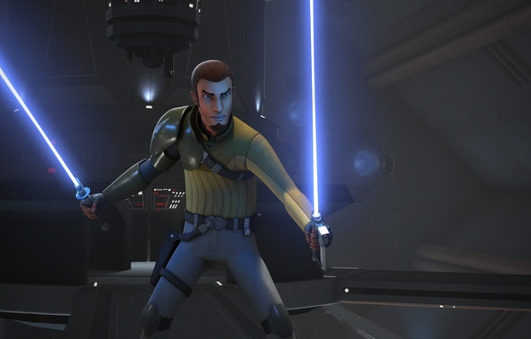 Wallpaper Animated Series Star Wars Rebels Kanan Jarrus Star Wars Rebels Images For Desktop Section Filmy Download