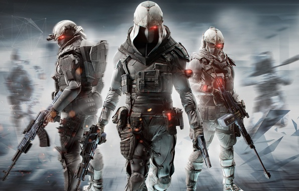 Picture Helmet, Soldiers, Weapons, Ubisoft, Military, Equipment, Ubisoft Singapore, Tom Clancy's Ghost Recon Online, The vest