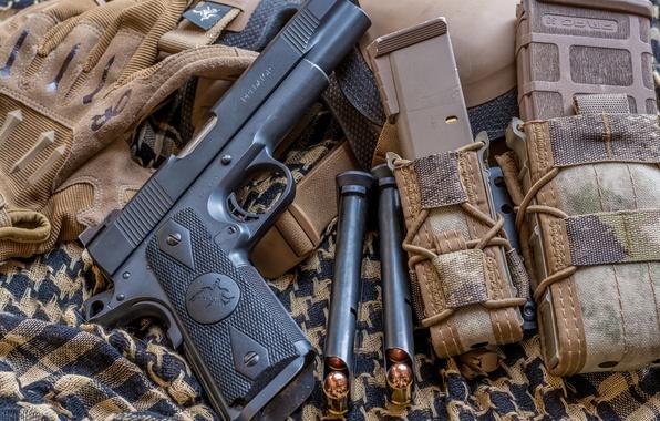 Picture gun, weapons, Predator, 1911, Nighthawk Custom