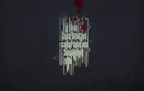 Picture drops, text, the inscription, blood, minimalism, font, minimalism walls