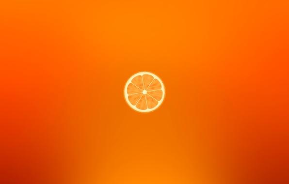 Photo Wallpaper Orange Fruit