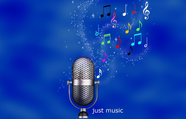 Picture notes, Wallpaper, music, sound, microphone