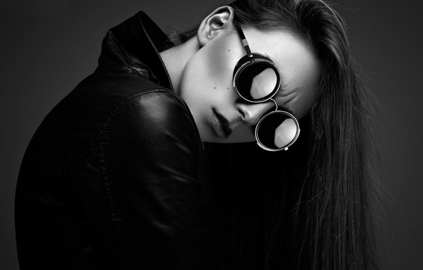 Picture girl, glasses, jacket, Chloé, Ynot Photographe