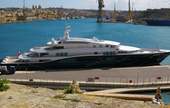 Picture photo, yacht, Carinthia VII