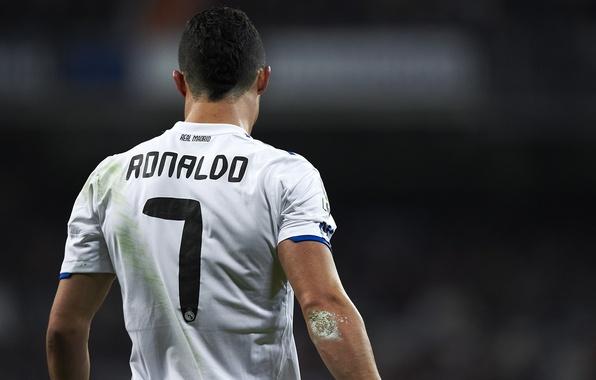 Picture football, form, Cristiano Ronaldo, player, football, player, Real Madrid, Real Madrid, Ronaldo, Ronaldo, Cristiano Ronaldo
