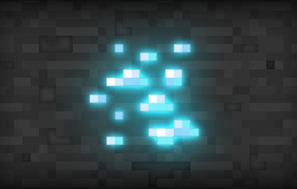 Picture minecraft, diamond, minecraft, diamonds