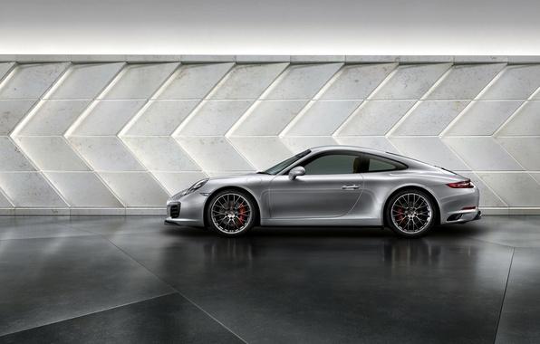 Photo wallpaper 911, Porsche, Porsche, side, Carrera, Carrera