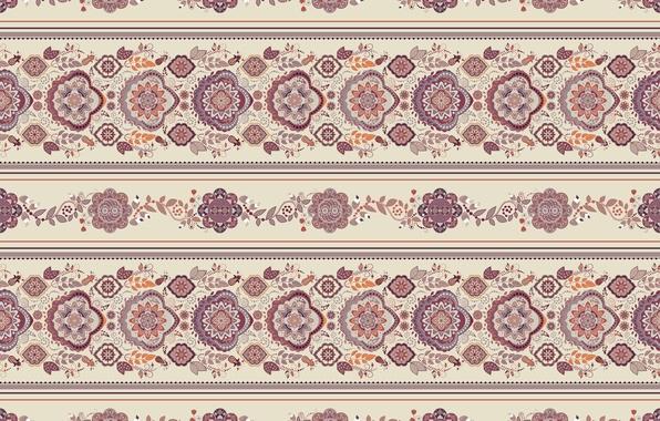 Picture pattern, ornament, beige
