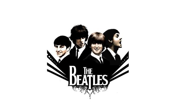 Picture music, The Beatles, Rock, The Beatles, Beatles, Legend, great, George Harrison, John Lennon, four, Paul …