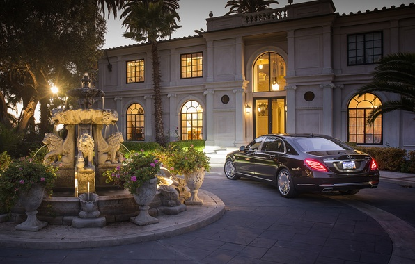 Picture Maybach, Mercedes, Maybach, S-Class, 2016, Mercdedes-Benz