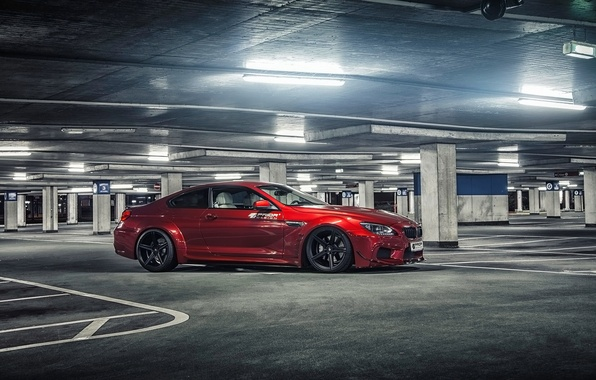 Picture car, machine, tuning, tuning, parking, rechange, BMW M6, Prior Design