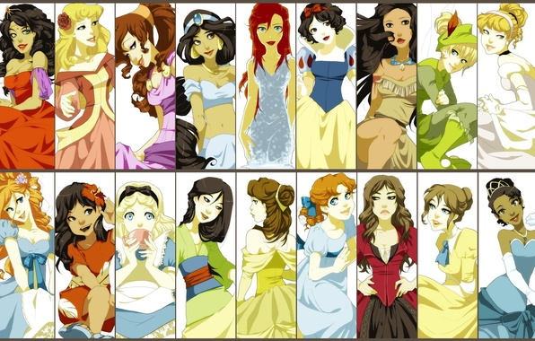 Picture disney, Disney Company, cartoon characters