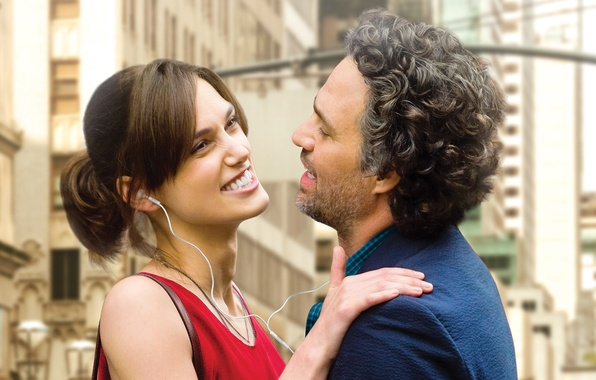Picture Keira Knightley, Keira Knightley, poster, Mark Ruffalo, Mark Ruffalo, Begin again, For once in your …