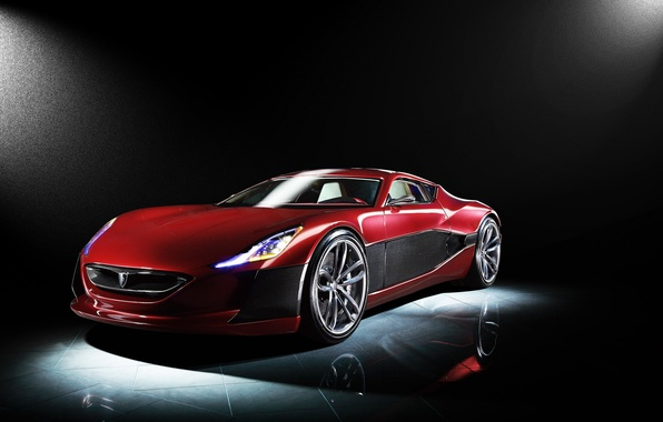 Picture Concept, Red, One, Rimac