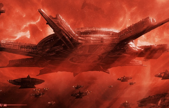 Picture space, fiction, movies, Stargate, ships, stargate