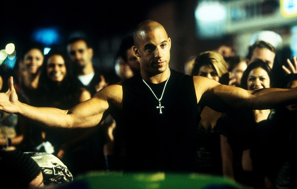 Picture VIN Diesel, The fast and the furious, The Fast and the Furious, Dominic Toretto