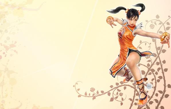 Picture background, light, Tekken, Tekken, Xiaoyu, Tekken 6