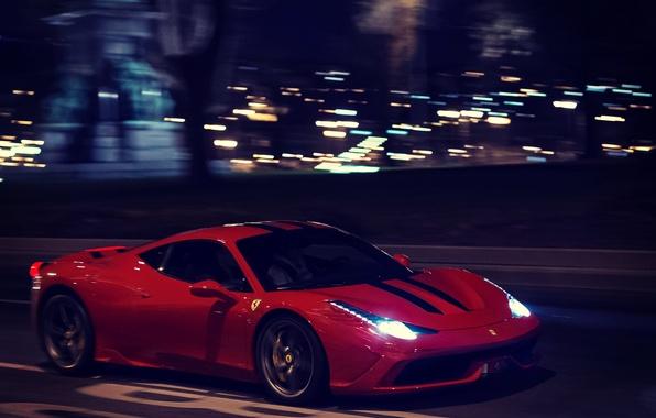 Picture Red, Ferrari, Italy, Ferrari, Red, 458, italia, Speciale