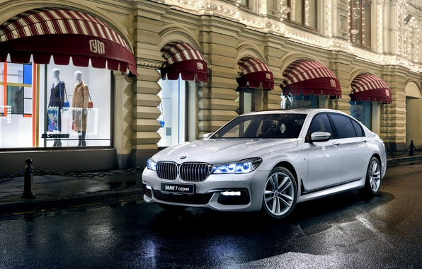 Picture BMW, BMW, sedan, xDrive, 7-Series, G12