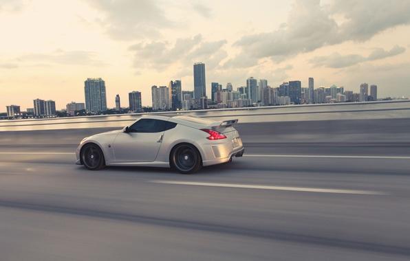 Picture Auto, Sport, Tuning, Speed, Race, Track, Auto, Nissan 370Z, metallic grey, Nissan 370