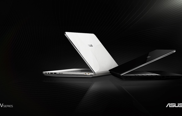 Picture white, asus, laptop