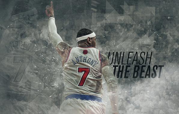 Picture Sport, New York, NBA, Basketball, Knicks, Carmelo Anthony, Carmelo Anthony