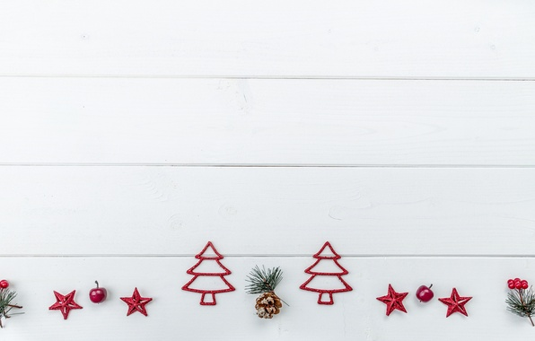 Picture stars, tree, Board, New Year, Christmas, Christmas, Christmas trees, New Year, decor, Xmas, Merry