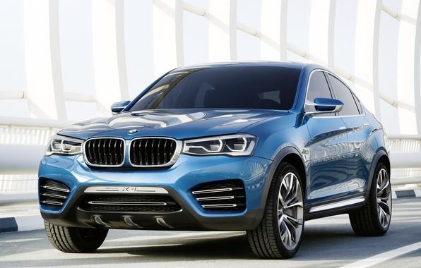 Picture Concept, blue, BMW, BMW, blue, икс4